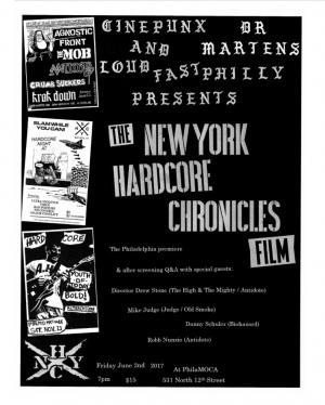NYHC doc flyer