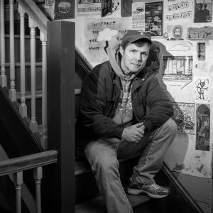 Portrait of Chuck Meehan by Karen Kirchhoff