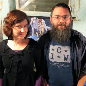 Portrait of Kate Wendland Duncan and Pete Tridish