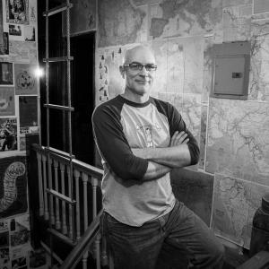 Portrait of Bryan Lathrop of Sadistic Exploits – Photography by Karen Kirchhoff
