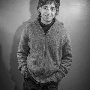 Portrait of Joe Genaro of The Dead Milkmen – Photograph by Karen Kirchhoff
