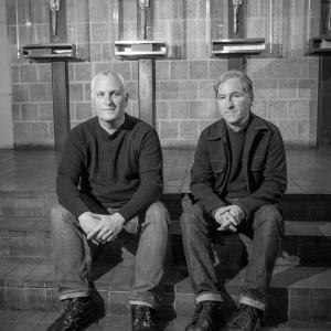 Portrait of Greg and Matt Mungan of Scram! Photograph by Karen Kirchhoff